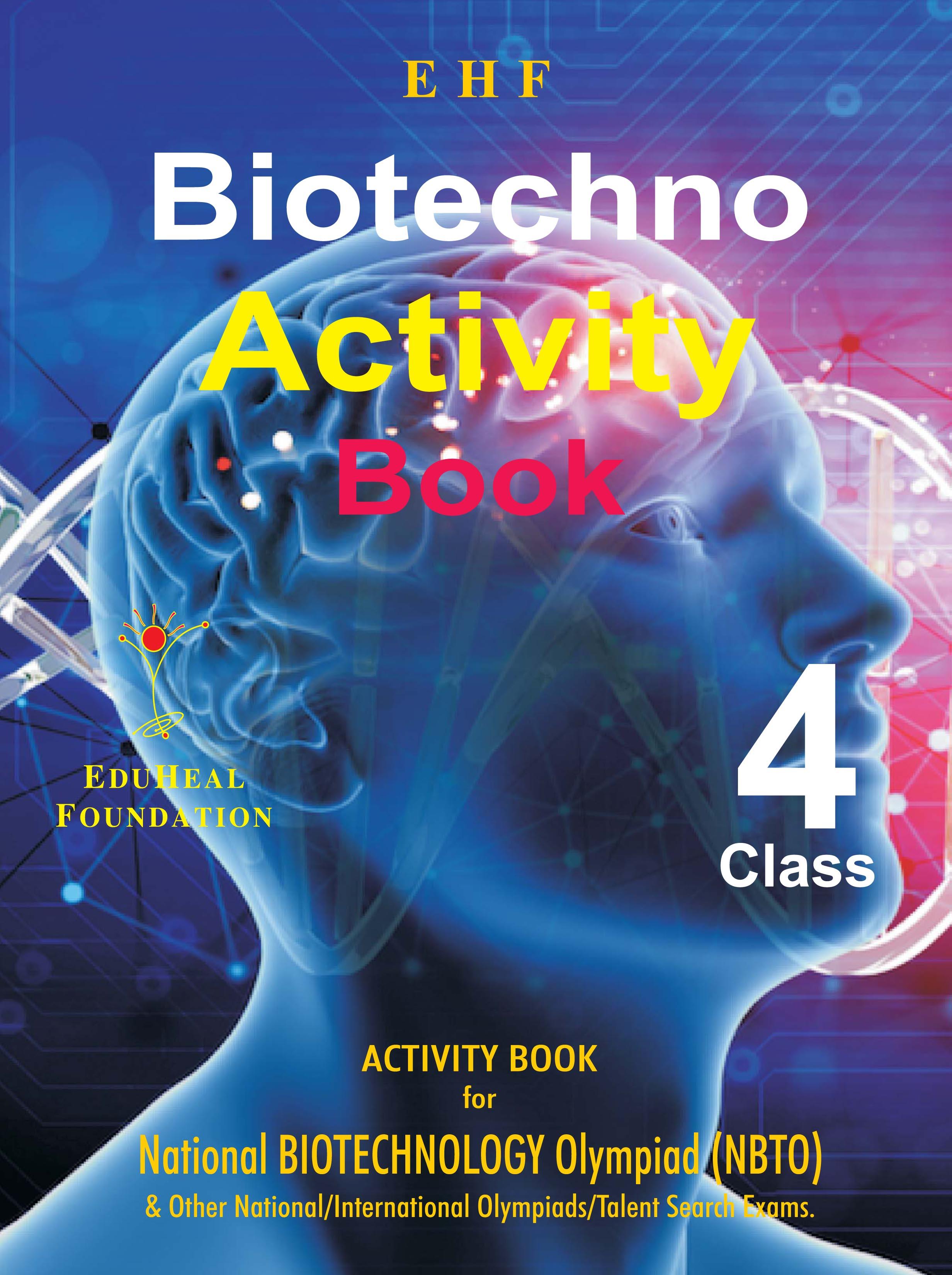 BIOTECHNOLOGY ACTIVITY BOOK CLASS 4   EHF Books Store